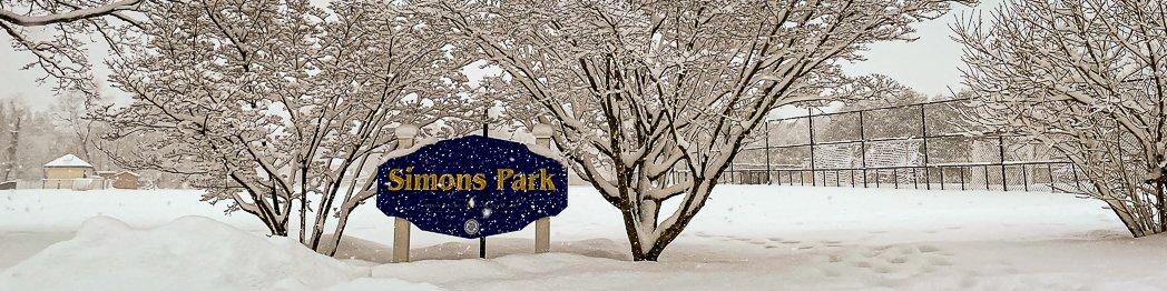 Simons Park Sign