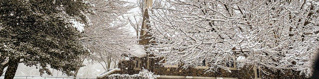 St Pauls Episcopal Church in Winter